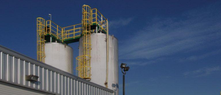 Installations de transit de nitrate d'ammonium – Réalisation
