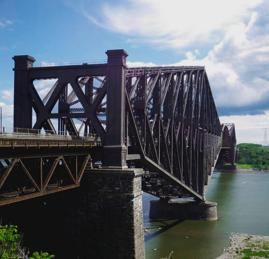 Inspection du pont de Québec