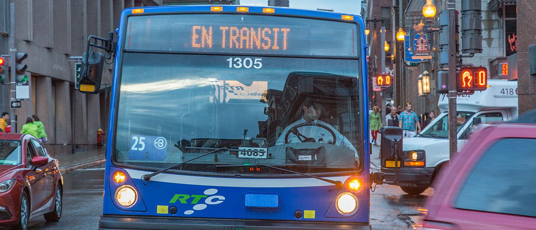 Rapibus à Québec